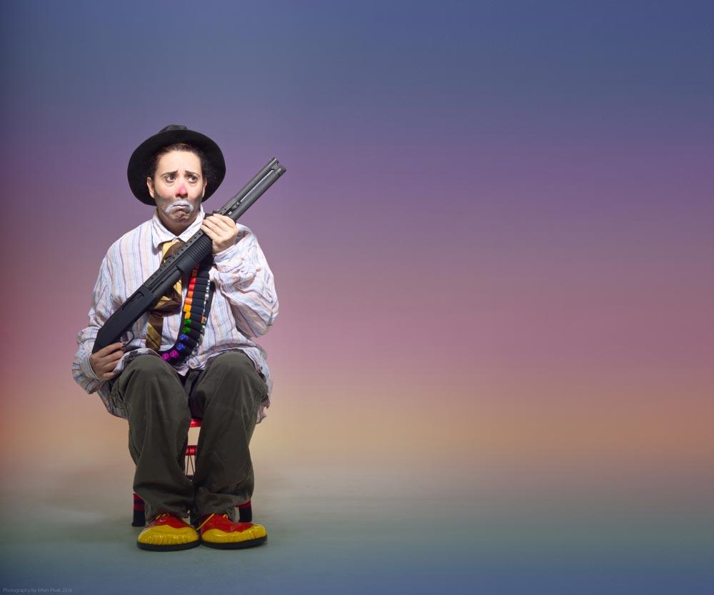 Eileen-Galindo-Sad-Clown-with-Gun